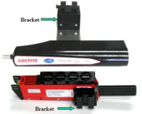 Mounting Bracket for CureJet®, 7700-HD, or 7703-HD onto Robots