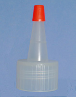Dunce Cap with Red Sealer Cap for 2 oz Soft Bottle # 98345 (50pk)