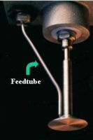 Feed Tube Assembly for 0.375, 0.437, and 0.500 inch diameter spinners